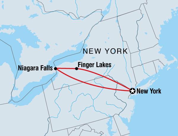 New York To Niagara Falls Tour Helping Dreamers Do
