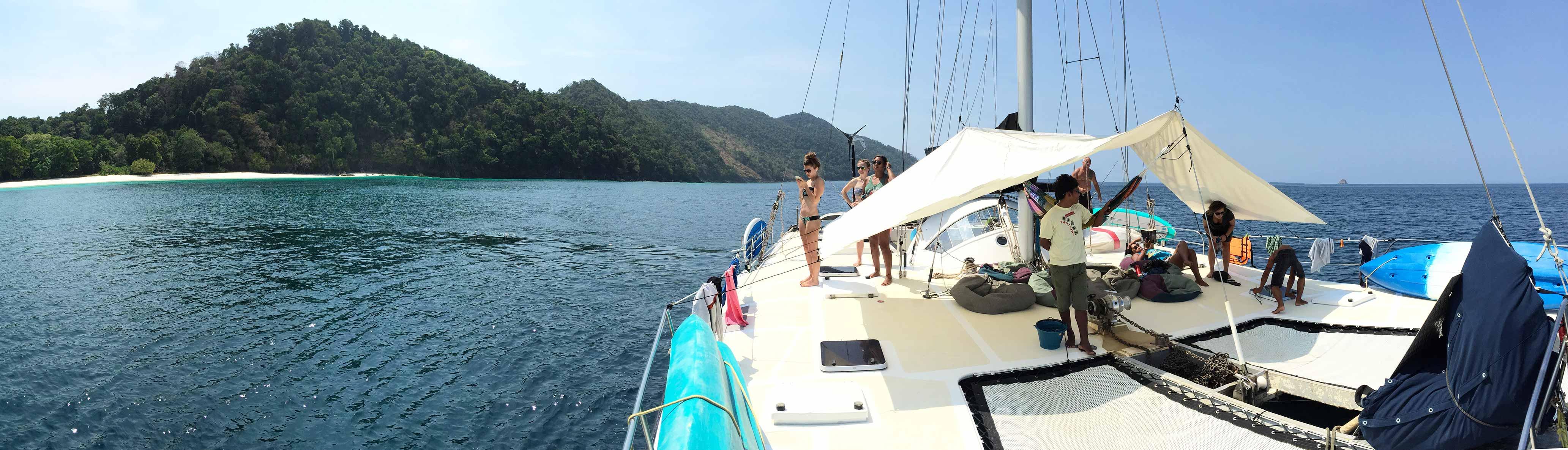 Mergui Archipelago Sailing Experience departing from Khao Lak