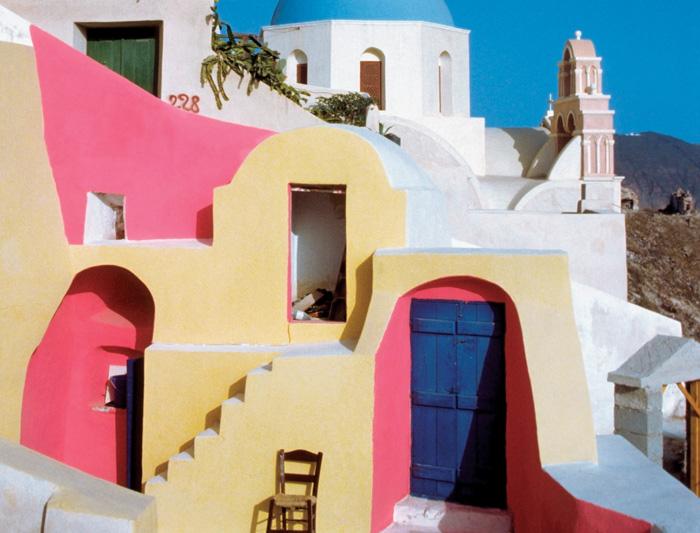 Sail Greece - Santorini to Mykonos 1