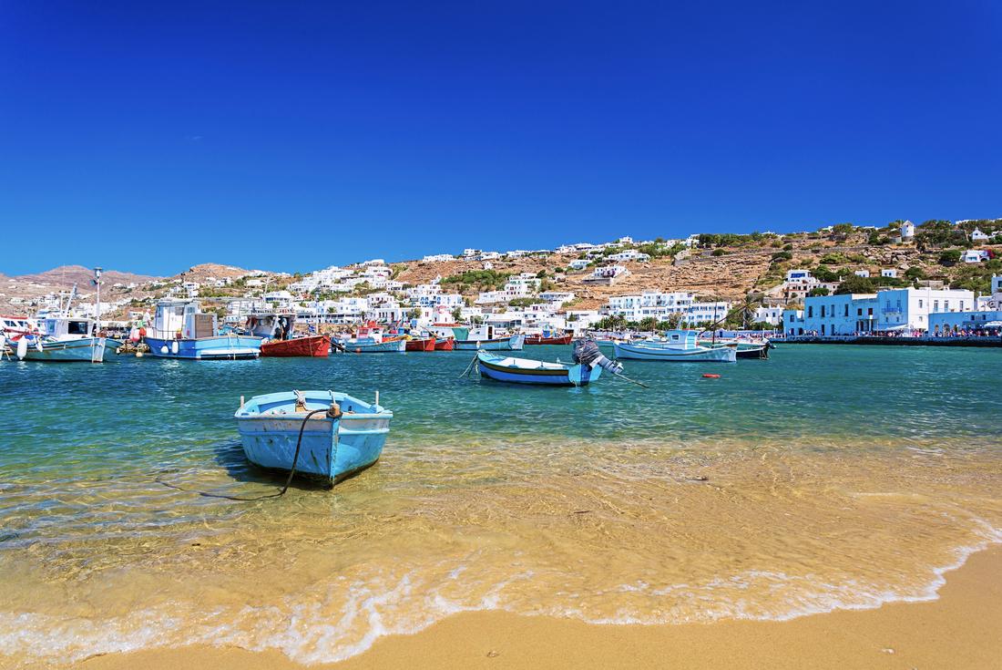 Sail Greece - Mykonos to Santorini 2