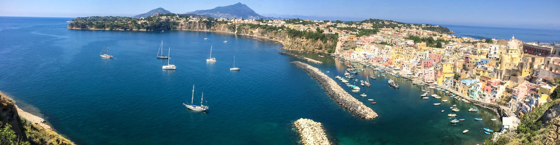 Sail Italy – Procida to Amalfi