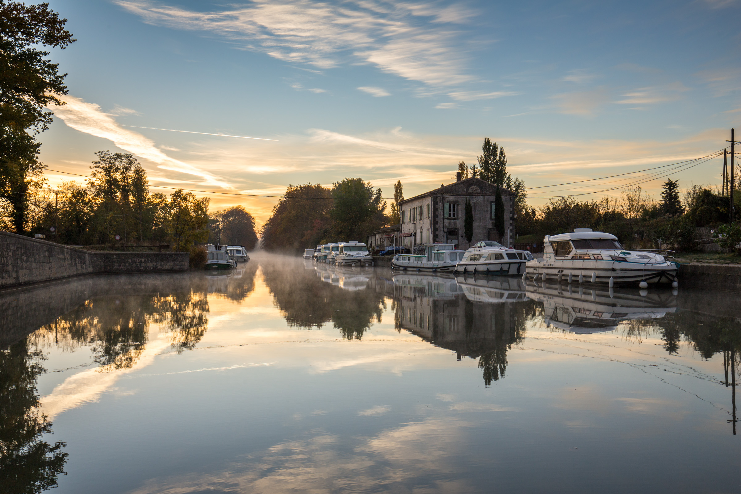 The Canal du Midi  (Castelnaudary to Homps) 2