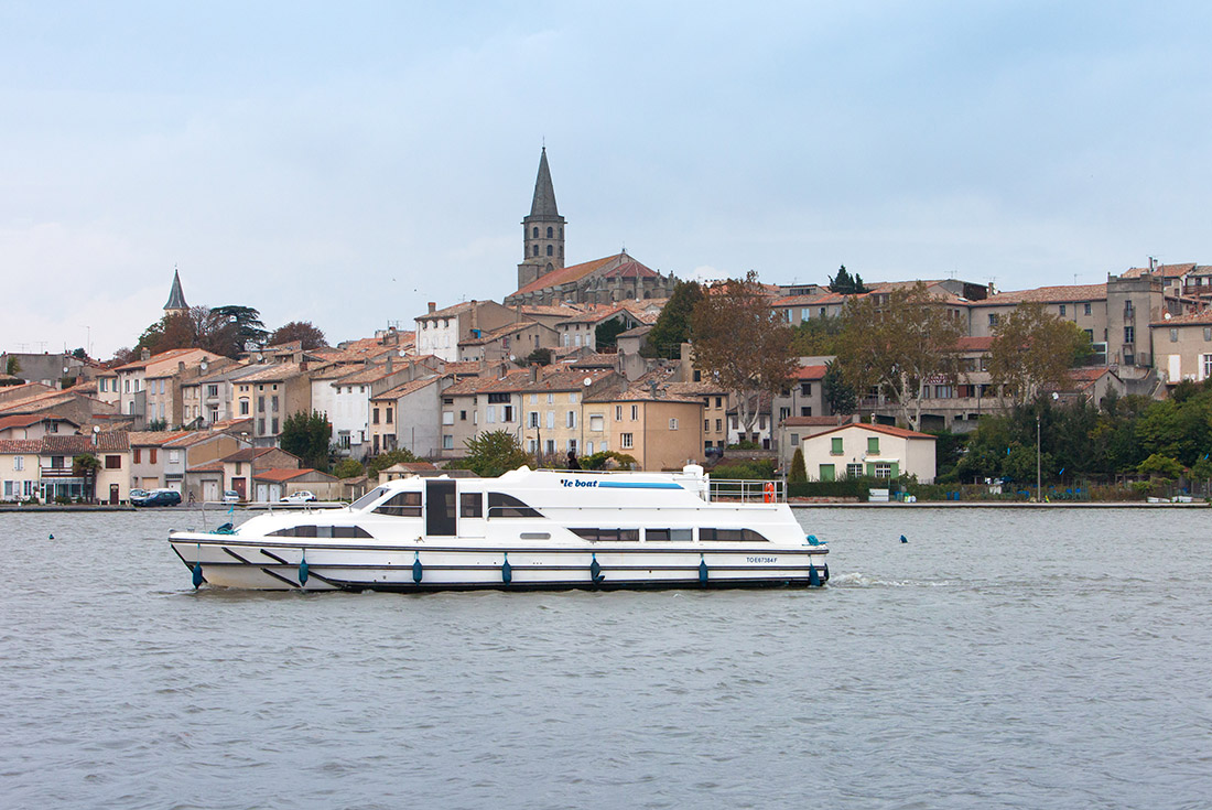 The Canal du Midi  (Castelnaudary to Homps) 1