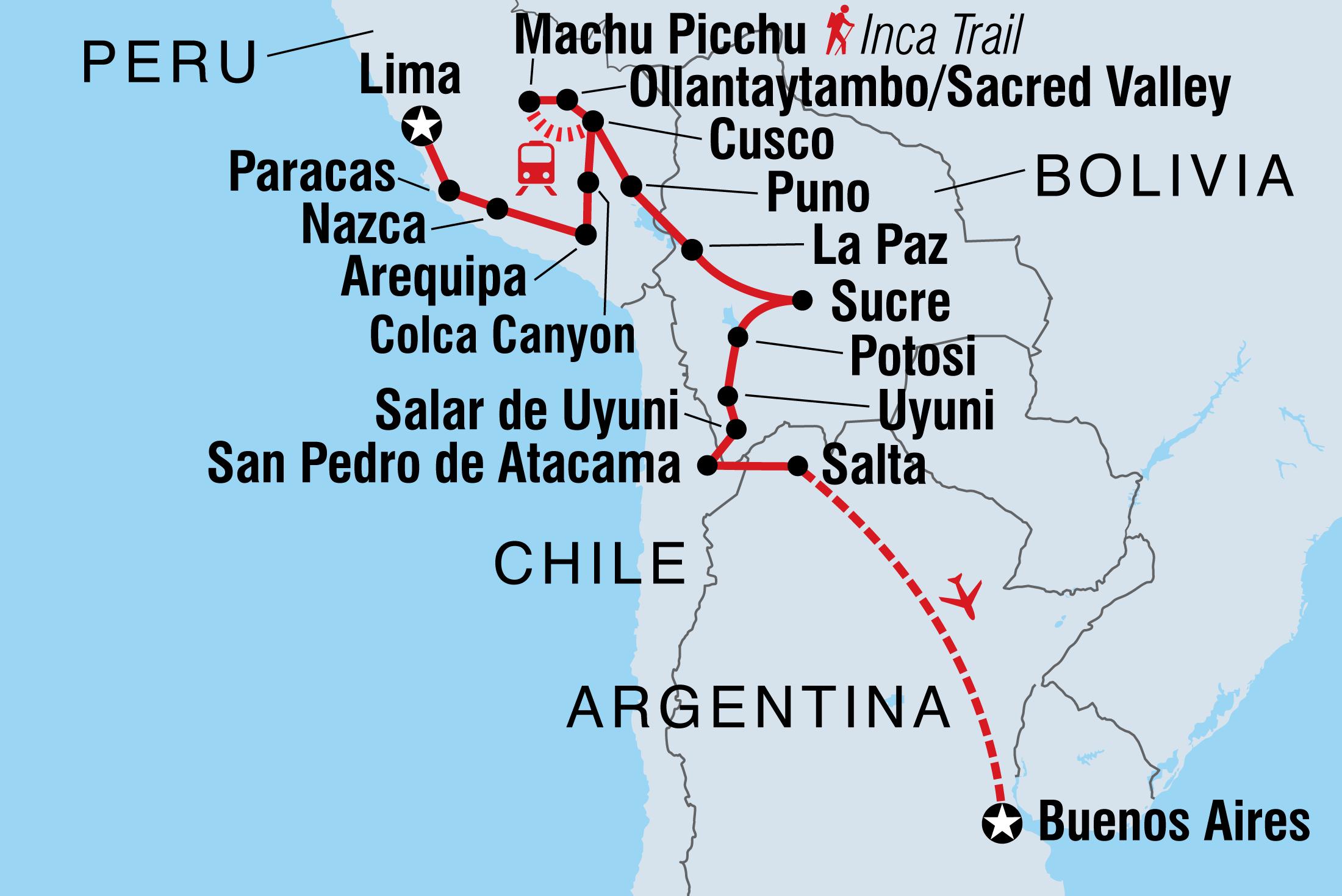 Image of Adventure through Peru, Bolivia & Argentina