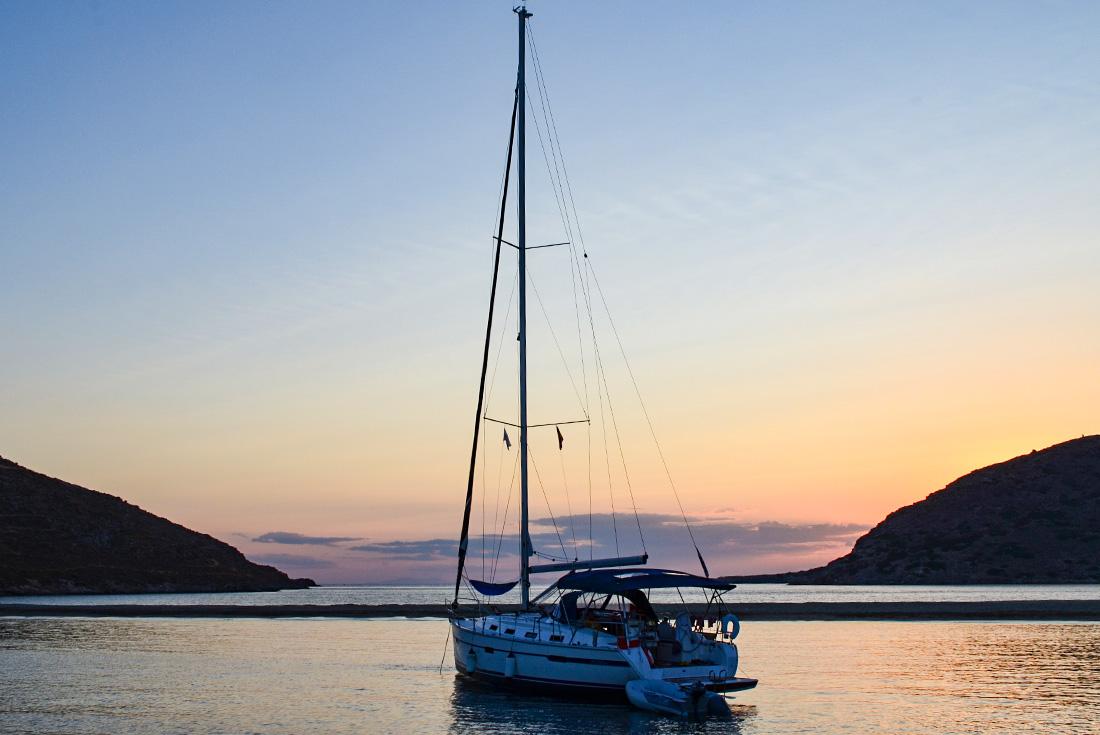 One Week Sailing Mykonos to Santorini 3