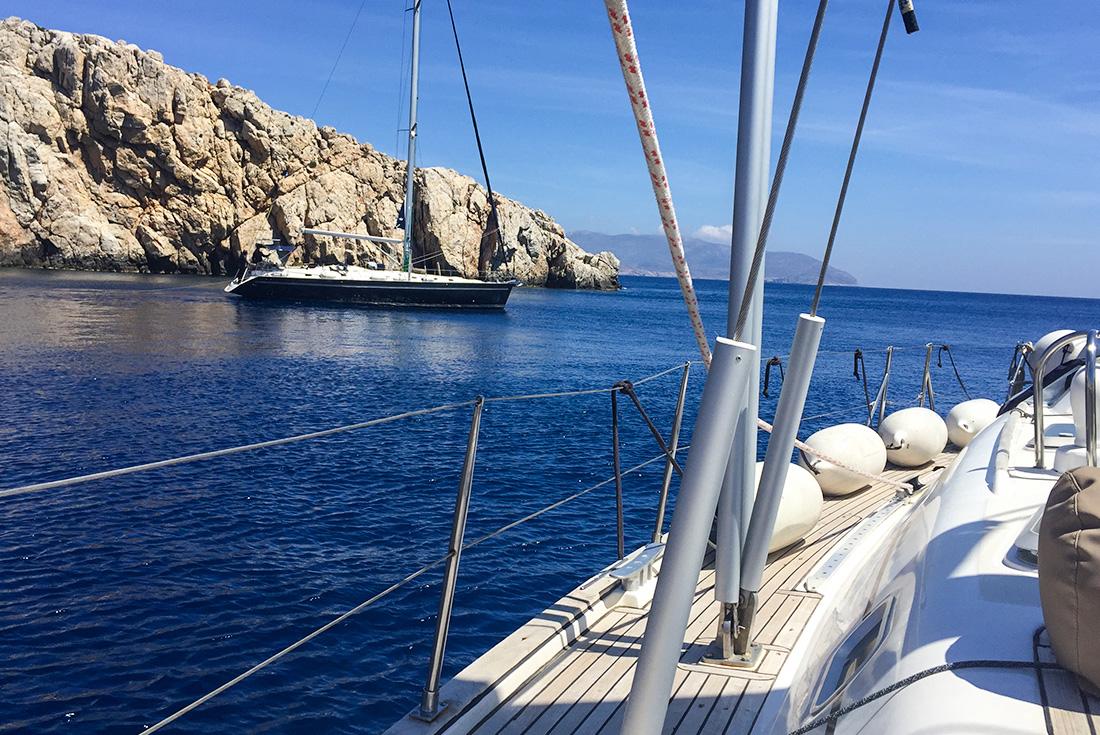 One Week Sailing Mykonos to Santorini 2