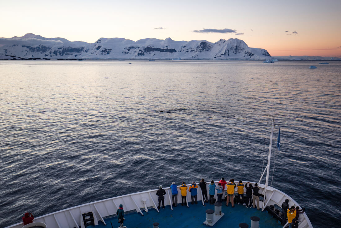 Crossing the Antarctic Circle From Buenos Aires 3