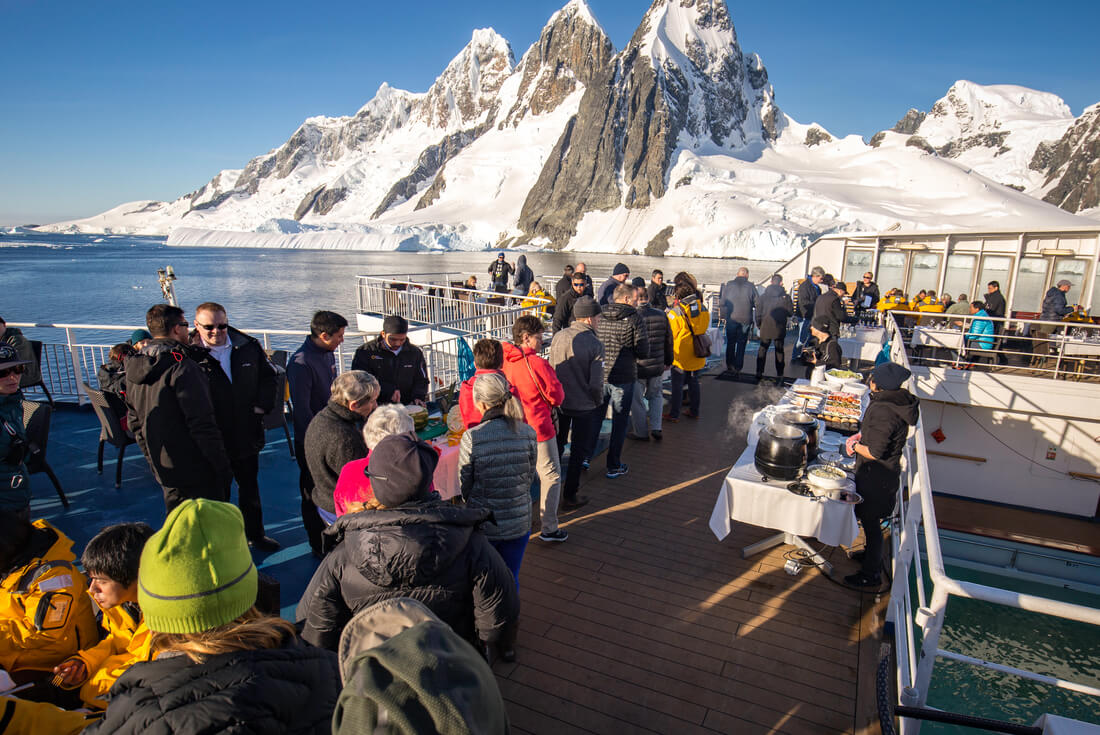 Crossing the Antarctic Circle From Buenos Aires 2