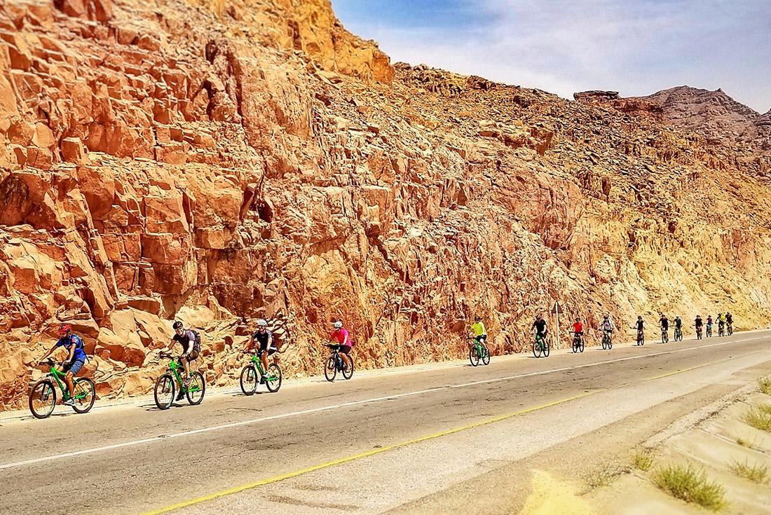 Cycle Jordan: Petra & Wadi Rum 3