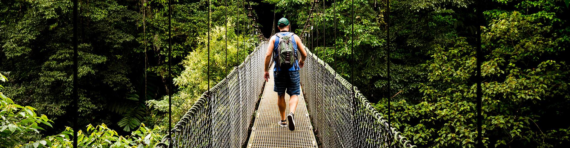 Costa Rica: Hike, Raft & Zipline