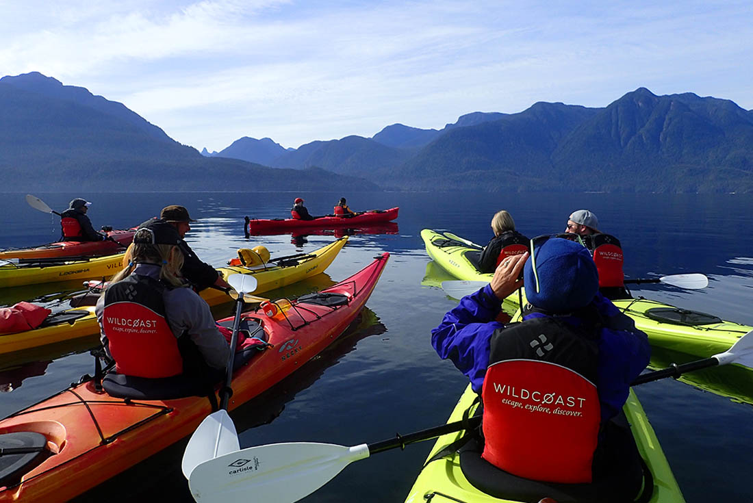 Discovery Islands & Orca Camp Expedition 2