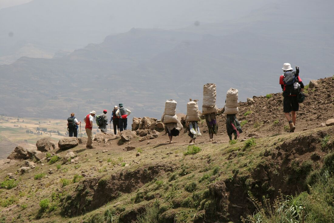 Trek Ethiopia: The Simien Mountains 2