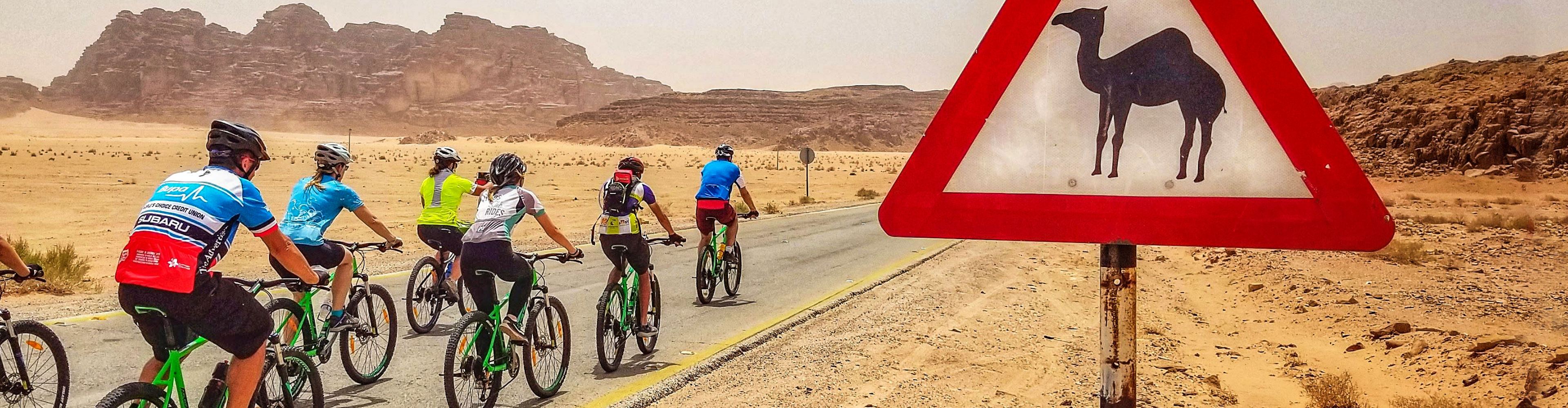 Cycle Jordan for Good: A ride with Intrepid's founder