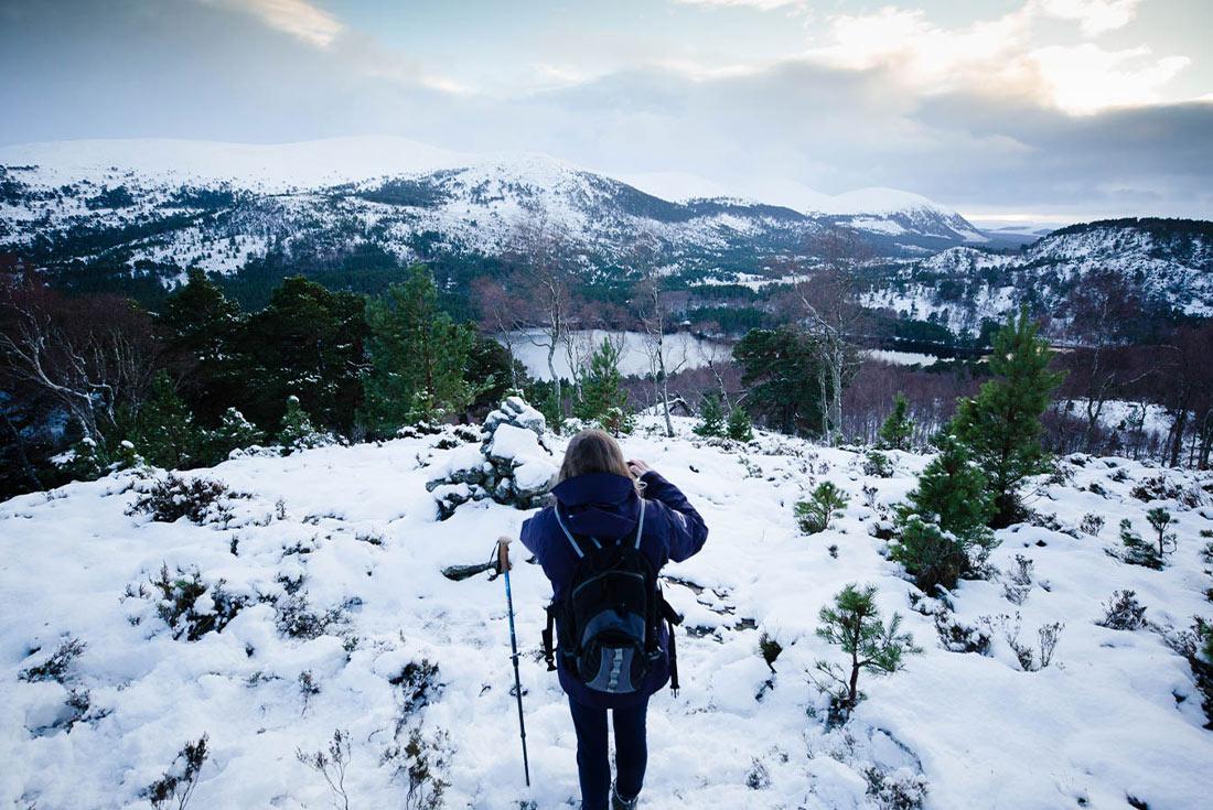 Scotland: Cairngorms Winter Walking 4