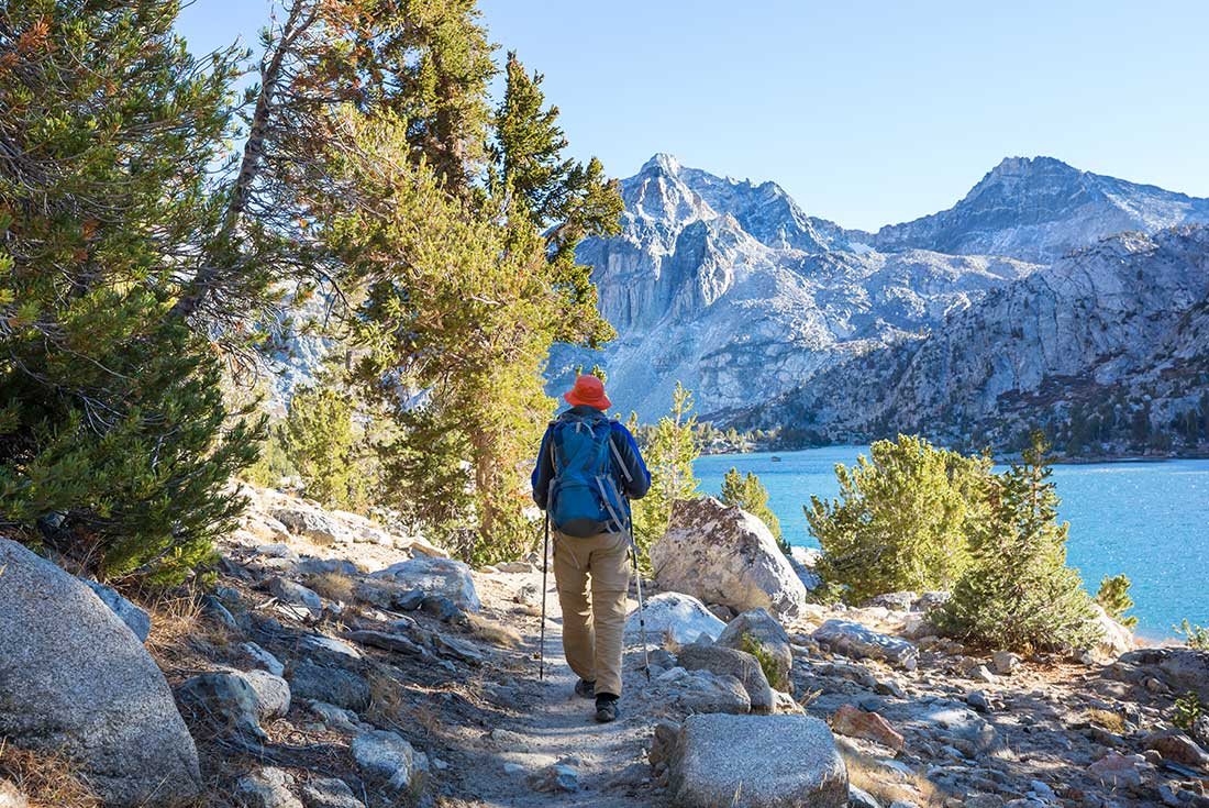 Walking in California's Sierra Nevada 1