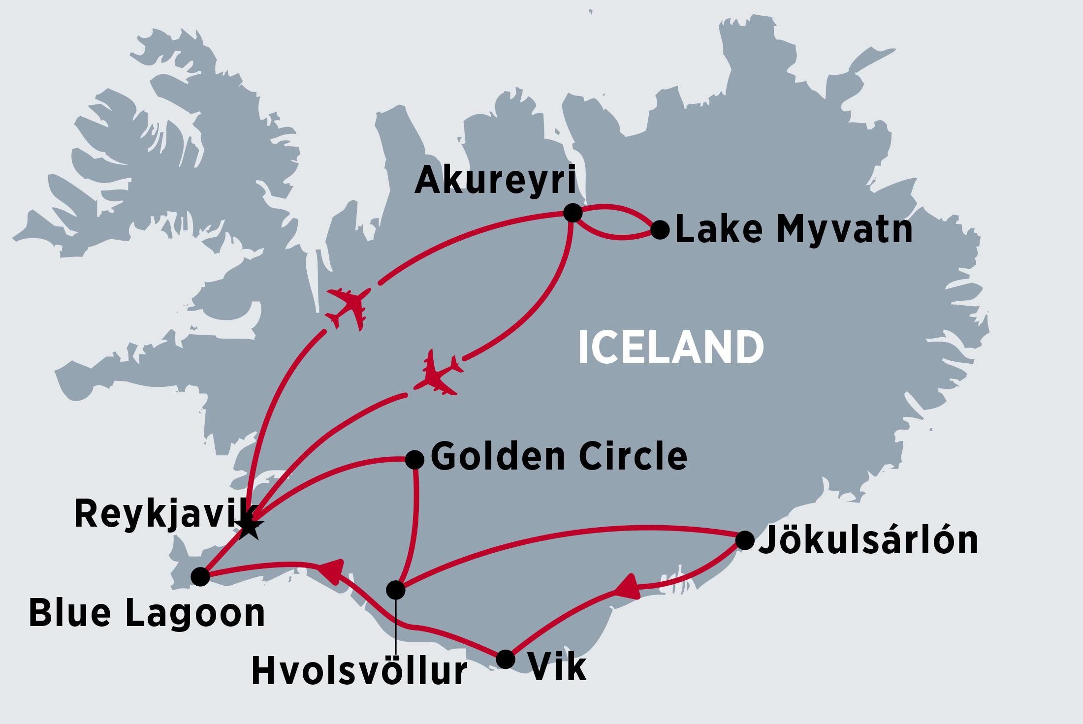 Icelandic Northern Lights
