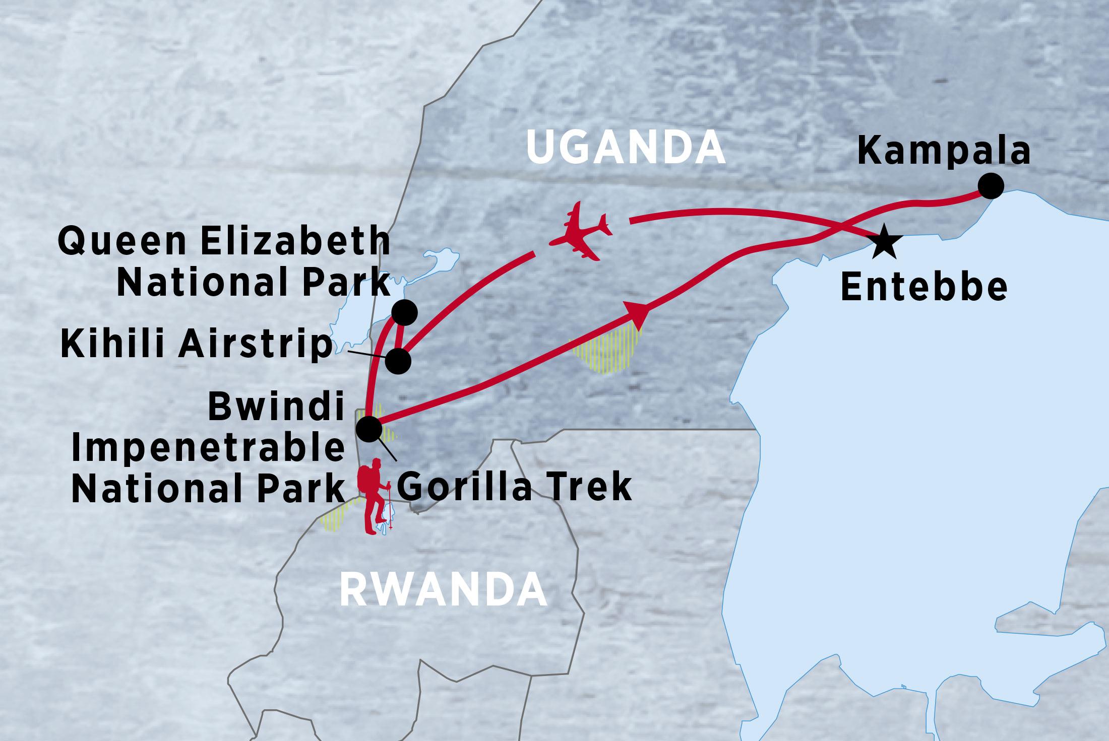 Uganda Gorilla Expedition & Safari - Limited Edition