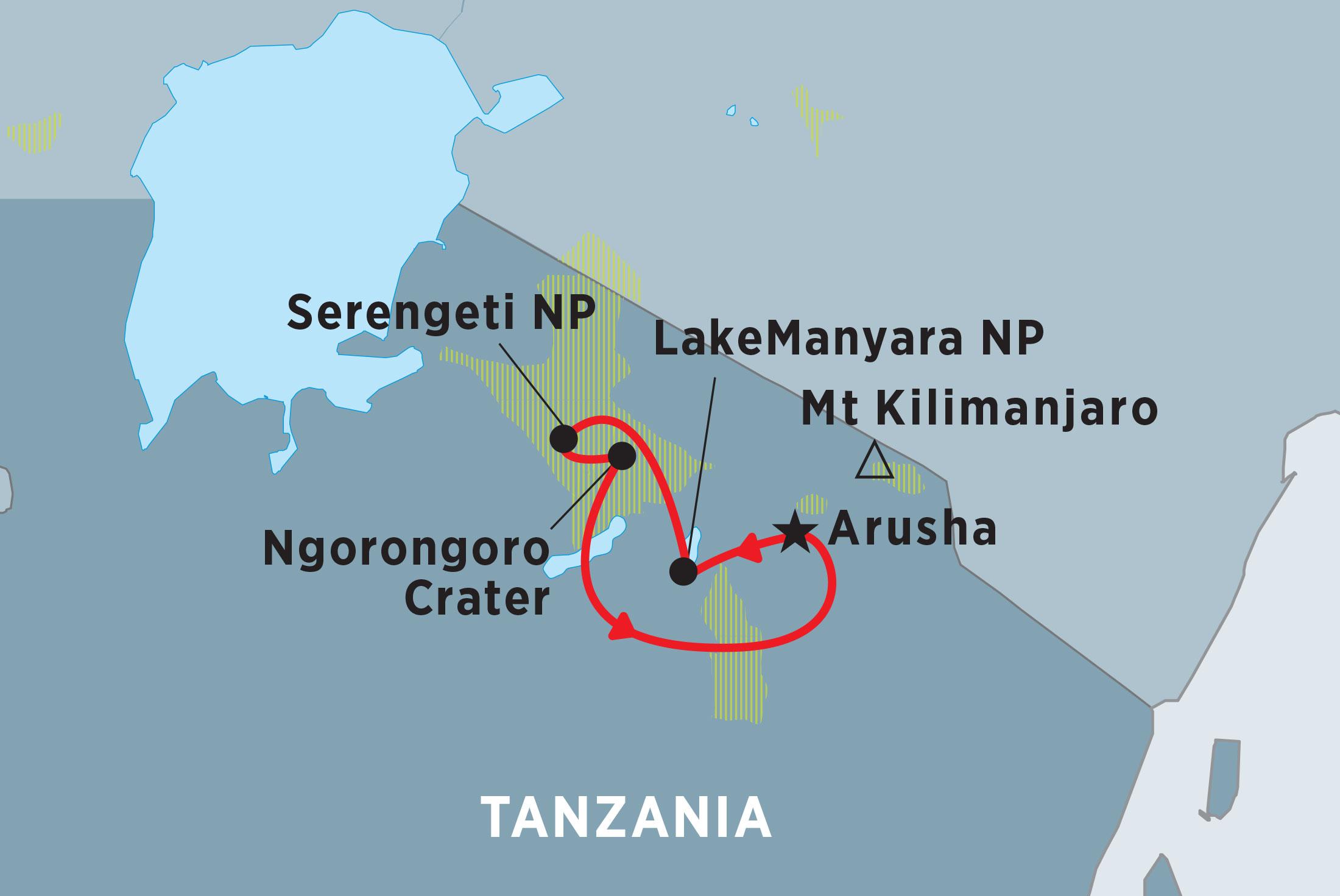 Tanzania Lodge Safari