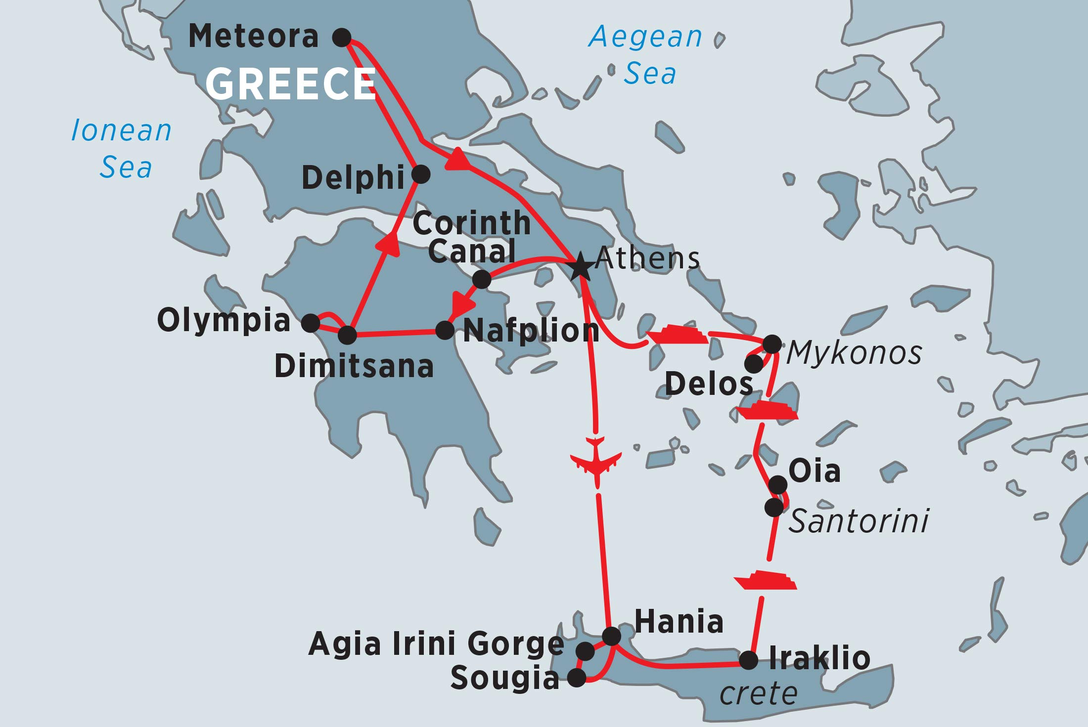 Complete Greece