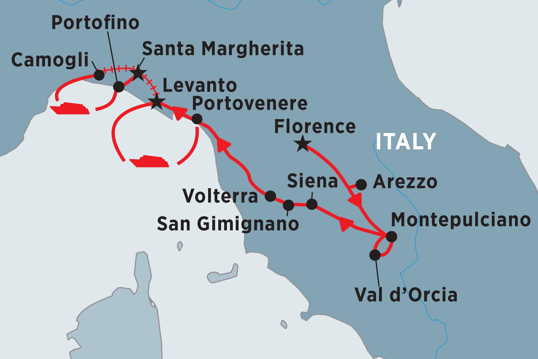Tuscany & Cinque Terre Explorer