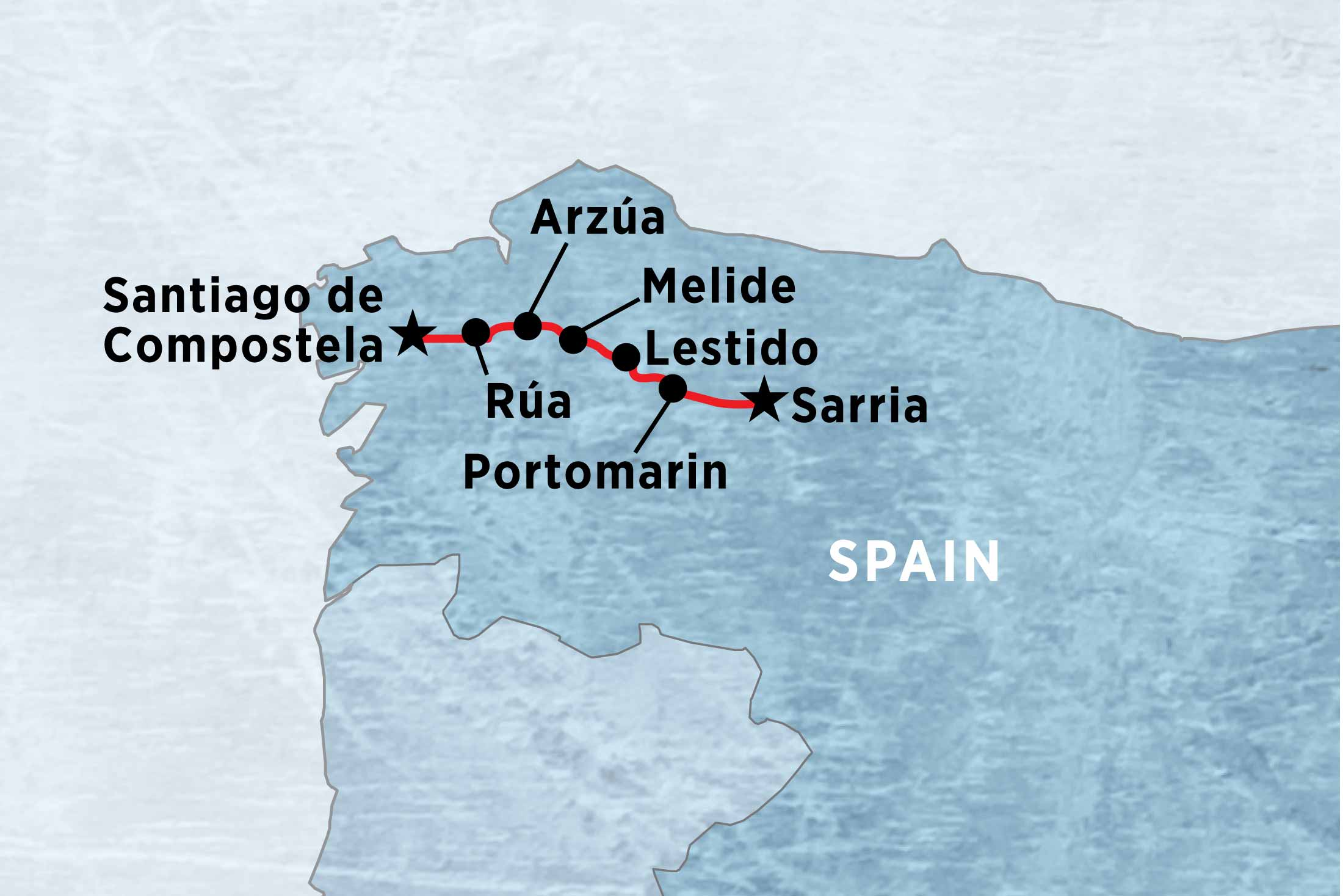For over a thousand years, pilgrims have been walking the Camino de Santiago (the Way of St James). Here�s your chance to follow the trails of medieval pilgrims bound for Santiago de Compostela and have all the details taken care of � all you need to do is pack your bags!