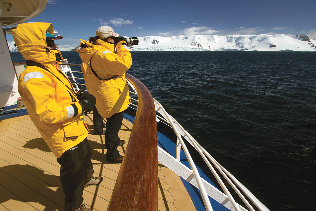 Photography Series:  Crossing the Antarctic Circle 1