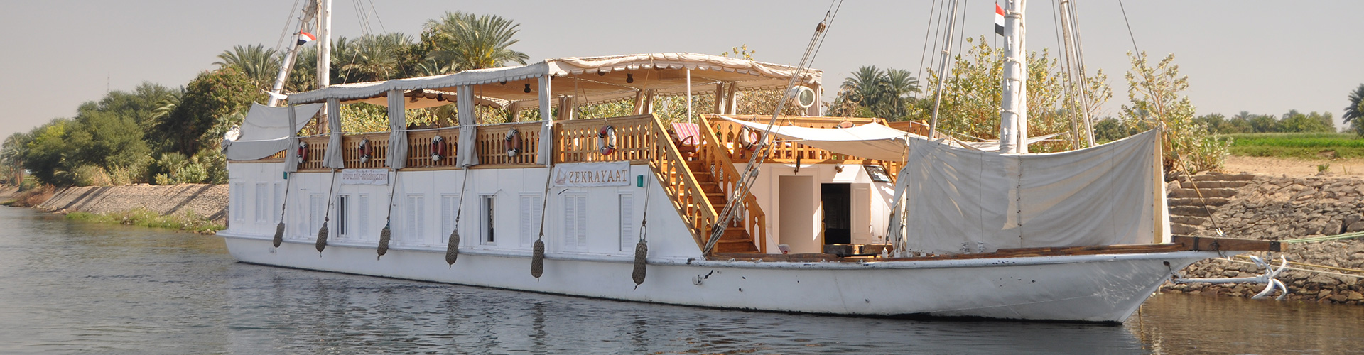 Egypt Dahabiya Nile River Cruise – Limited Edition