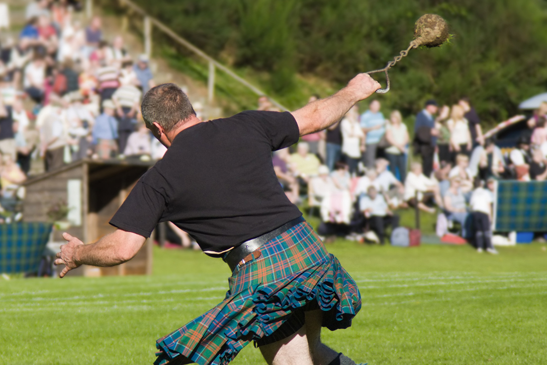 Scottish Highland Games - Limited Edition 1