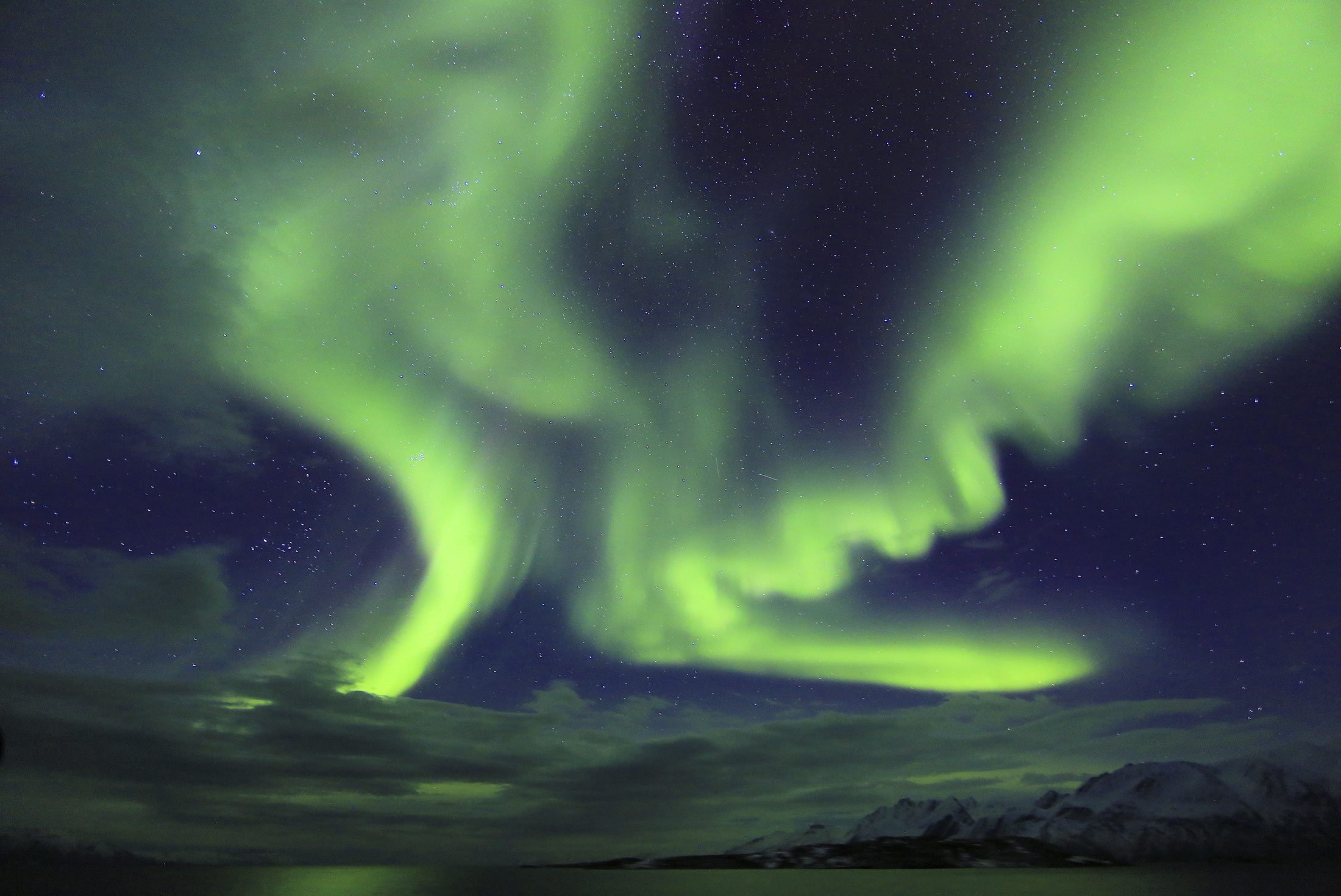 East Greenland and Iceland Northern Lights (World Explorer) 1