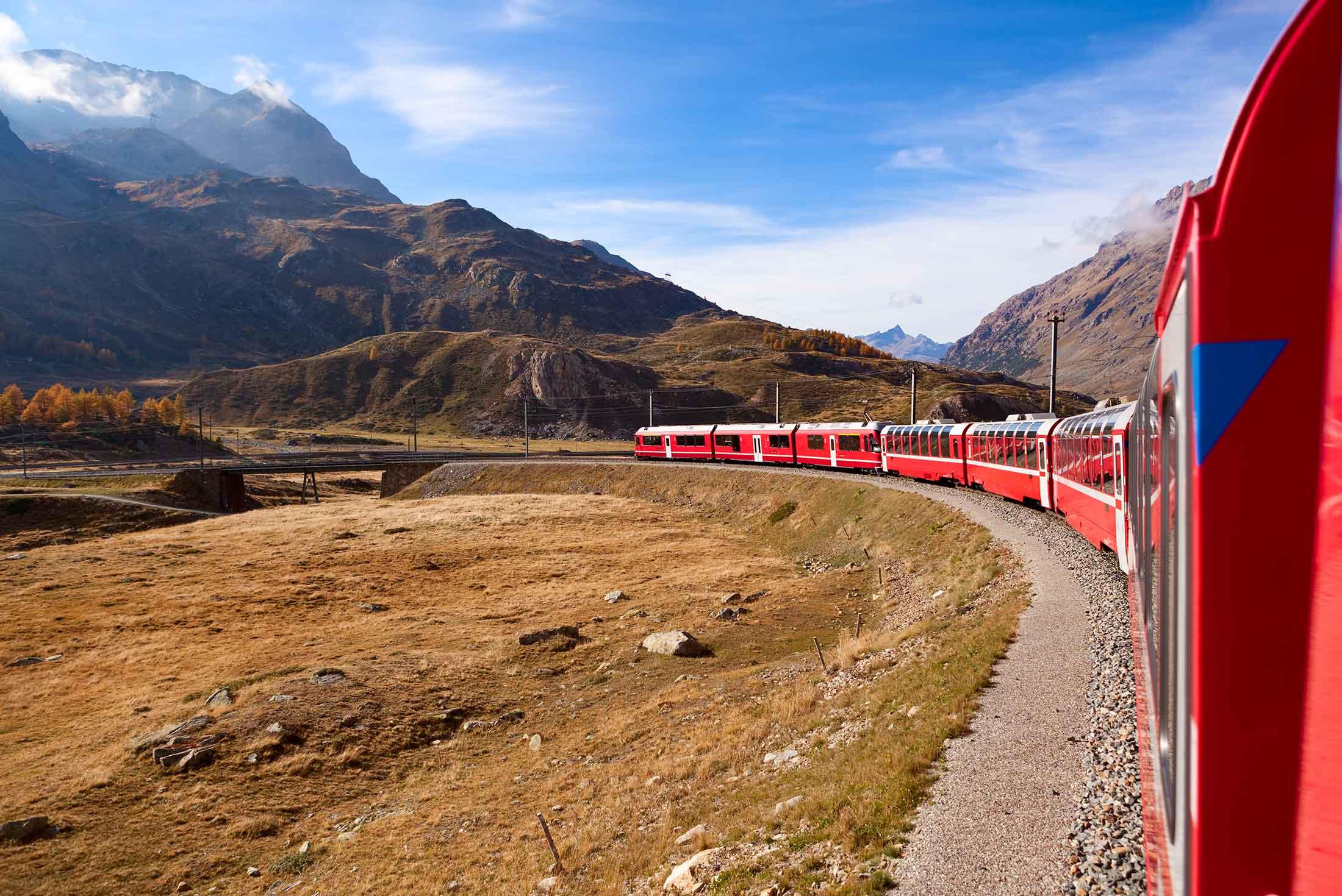 Alpine Railway Journey 1