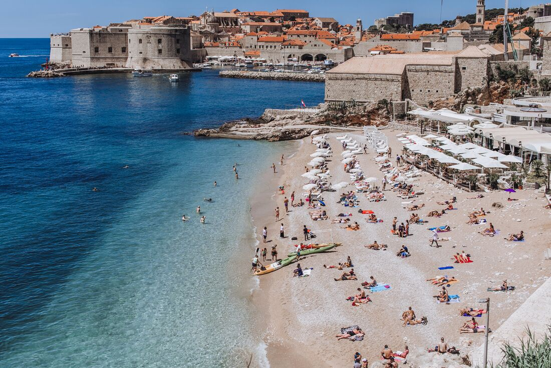 Dalmatia and the Adriatic by land and sea 1