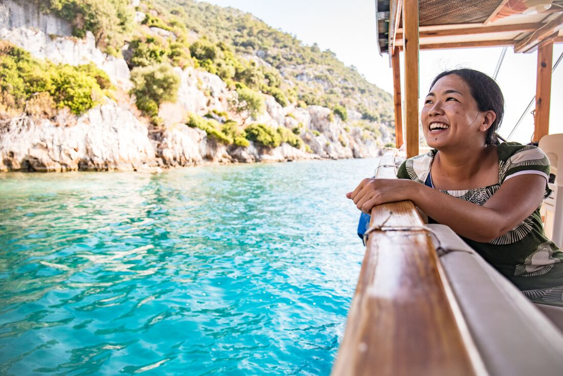 Cruising the Turkish Coast from Fethiye 1