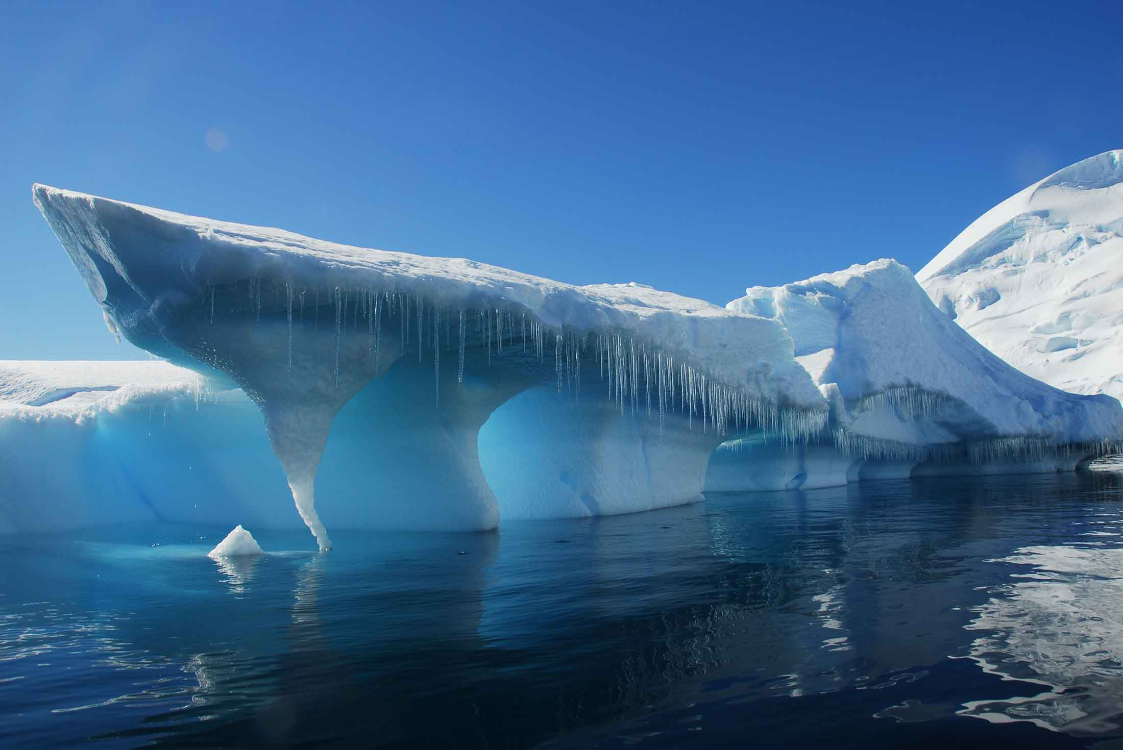 Crossing the Antarctic Circle from Buenos Aires 1